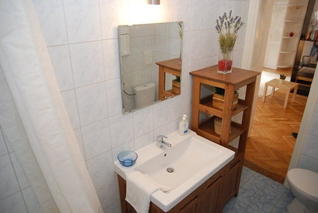 Budapest Holiday / Vacation Apartment: Photo of Bathroom