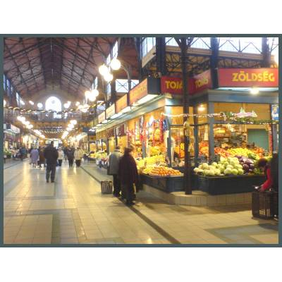 Budapest Holiday / Vacation Apartment: Photo of Central Market Food Hall